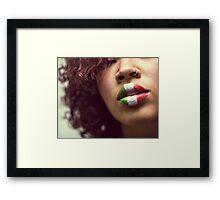 Cinco Framed Print