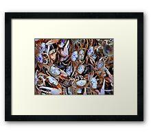 Crabby Crabs Framed Print