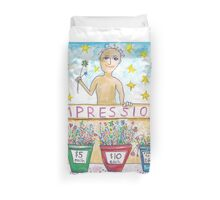 The Impressions Stand Duvet Cover