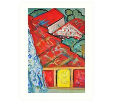 Out of the Window - Our Street 2 Art Print