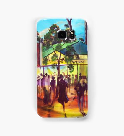 GYMPIE MUSTER - COLLECTION - MUSTER TAVERN SWAGGER Samsung Galaxy Case/Skin