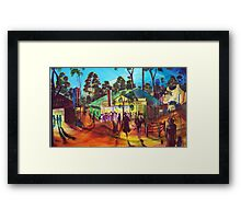 GYMPIE MUSTER - COLLECTION - MUSTER TAVERN SWAGGER Framed Print
