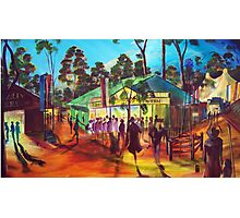 GYMPIE MUSTER - COLLECTION - MUSTER TAVERN SWAGGER Photographic Print
