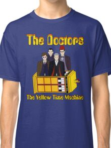The Yellow Time Machine (Plain Background) Classic T-Shirt