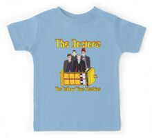 The Yellow Time Machine (Plain Background) Kids Tee