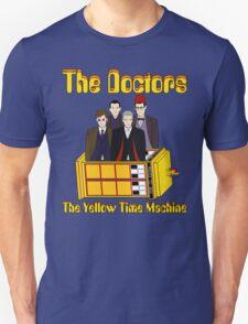 The Yellow Time Machine (Plain Background) T-Shirt