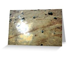 Shine of The Sand Greeting Card