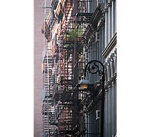 New York Fire Escapes Photographic Print