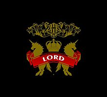 Fit For A Lord Coat-of-Arms by Vy Solomatenko