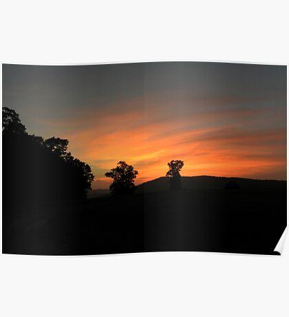 Ozark Sunset 2 Poster