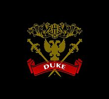 Fit For A Duke Coat-of-Arms by Vy Solomatenko