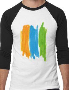 3 color INK Men's Baseball ¾ T-Shirt