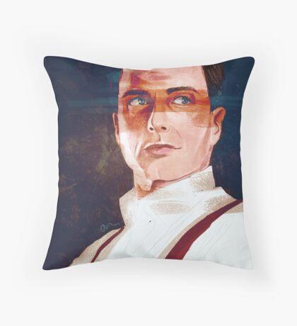 Captain Jack Harkness Throw Pillow