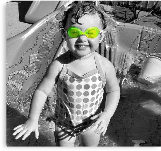Swim Goggles by Sandra Moore
