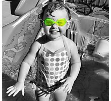 Swim Goggles Photographic Print