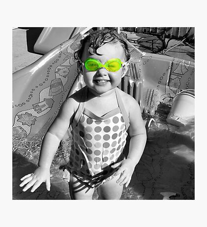 Swim Goggles Photographic Print