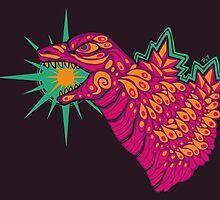 Godzilla by psychonautic