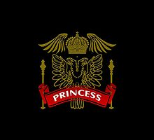 Fit For A Princess Coat-of-Arms by Vy Solomatenko