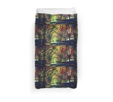 Autumn In Canberra Duvet Cover