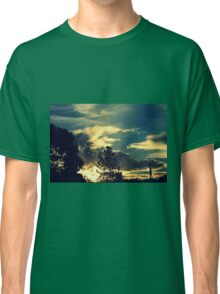 Sunset In The Suburb Classic T-Shirt