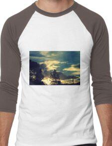 Sunset In The Suburb Men's Baseball ¾ T-Shirt