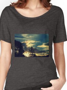 Sunset In The Suburb Women's Relaxed Fit T-Shirt