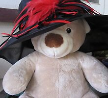 Bear in Hat by JacquieDuncan