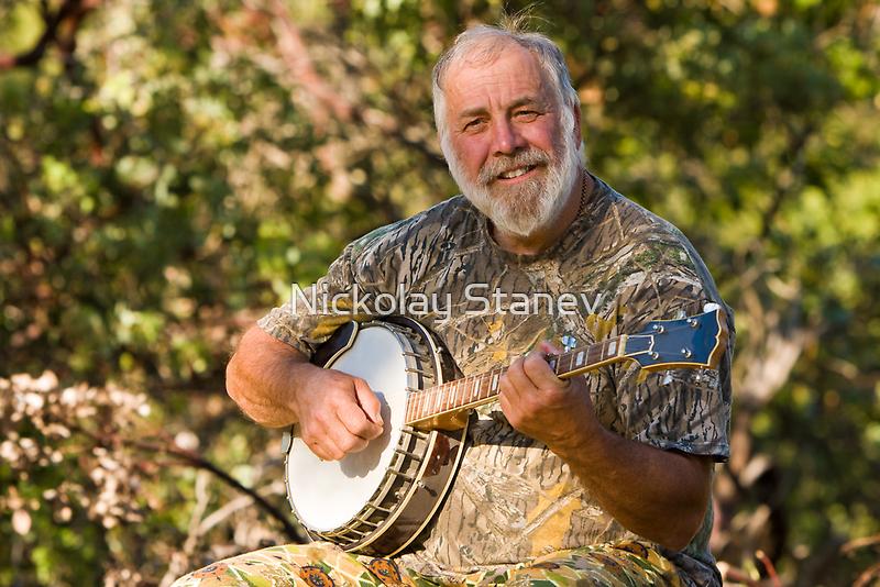 Banjo Player by Nickolay Stanev