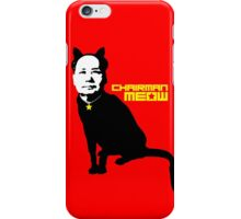 Chairman Meow iPhone Case/Skin