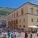 Rector's Palace, Dubrovnik, Croatia by Margaret  Hyde