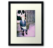 Last Days of the World... AK 47 performance troupe Framed Print