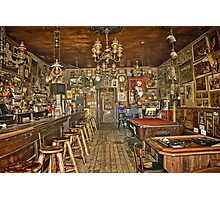 Nevada's Oldest Thirst Parlor (INside) Photographic Print