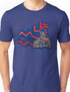 Gray, van Gogh (Angled) Unisex T-Shirt