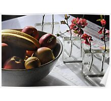 Fruits autorisés Poster