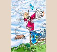 Scarecrow Dancing in the Wind Unisex T-Shirt