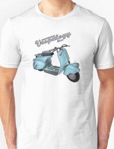 Scooterist Vespalogy (blue) T-Shirt
