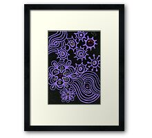 Night Sky 2 Framed Print