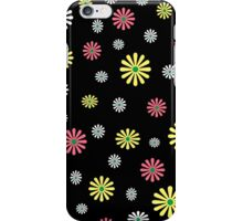 Colorful daisy flower pattern iPhone Case/Skin