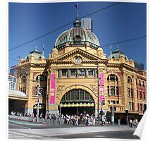 Flinders Street Station, Melbourne Poster