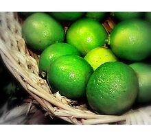 Citron vert de peur Photographic Print