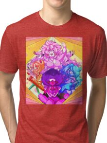Rose and the Crystal Gems Tri-blend T-Shirt