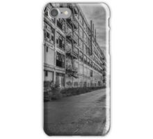 Fisher Body 21 Plant in Black and White  iPhone Case/Skin