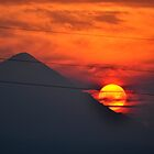SUNSET OVER MOUNT HOOD by Teresa Chipperfield