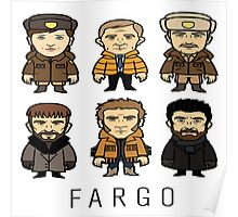 Fargo Cartoon Poster