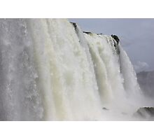 Underneath Iguazu Photographic Print