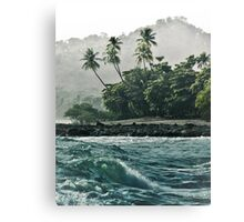 Crashing Beachfront Canvas Print
