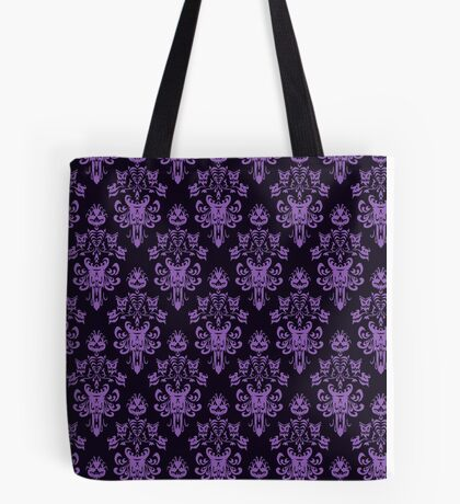 Haunted Wallpaper Tote Bag