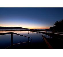 Lonely Sunrise Photographic Print