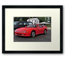 Red Sports Car Framed Print