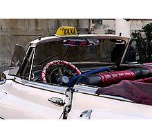 Open top Taxi, Havana, Cuba Photographic Print